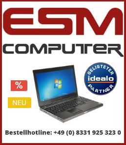 ESM Computer - Solange der Vorrat reicht: Hochwertige Businessgeräte zum Spitzenpreis!